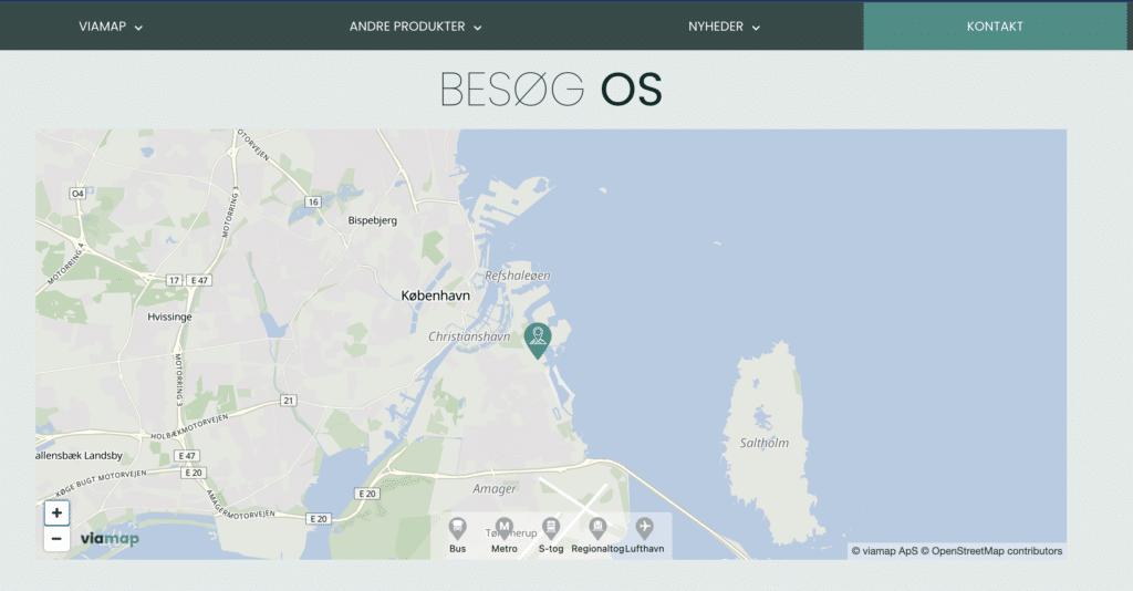 Quick Map Viamap website